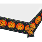 Tablecover Pumpkin Plastic 137 x 243 cm