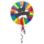 Standard Juhu Bestanden Foil Balloon Round S40 Packaged 43 cm