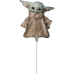 Mini Shape Star Wars Mandalorian Child Foil Balloon A30 Bulk