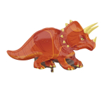 SuperShape Triceratops Foil Balloon P35 Packaged 106 x 60 cm