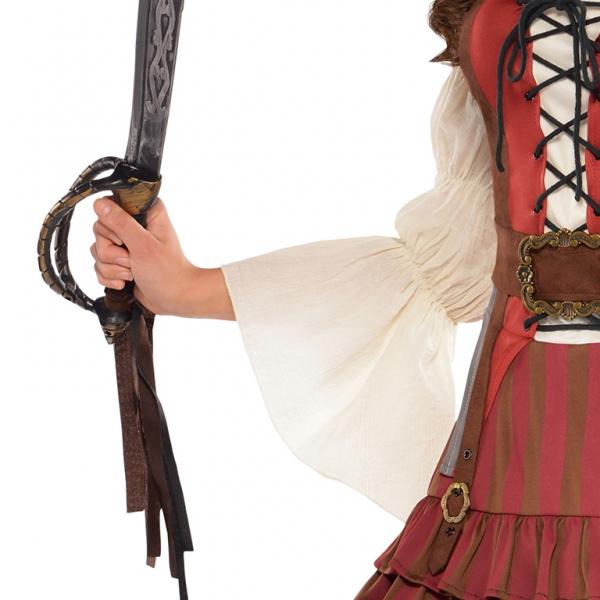 ce878b32a85 Ladies' Costume Castaway Pirate Size L : Amscan Europe