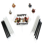 Birthday Candle Set Star Wars with 17 candels