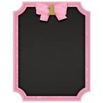 Easel Chalkboard Glitter Sign 1st Birthday Pink 18 x 23cm MD