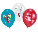 "6 Latex Balloons My School Start 27.5 cm / 11"""