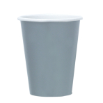 8 Cups Silver Paper 250 ml