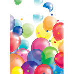 8 Party Bags Balloons Plastic 23.4 x 16.2 cm