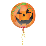 Orbz Pumpkin Foil Balloon G20 Packaged