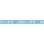 Foil Banner Baby Shower It's a Boy 762 x 12.7 cm