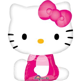 Mini Shape Hello Kitty Side Pose Foil Balloon A30 Bulk