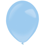"50 Latex Balloons Decorator Standard Pastel Blue 35 cm / 14"""