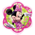 Junior Shape Minnie Foil Balloon S60 Packaged 46 x 46 cm