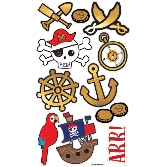 Tattoos Pirates Map